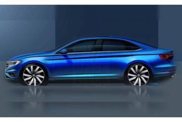 Nieuwe Volkswagen Jetta naar Detroit