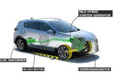 Kia presenteert diesel mild-hybrid aandrijflijn