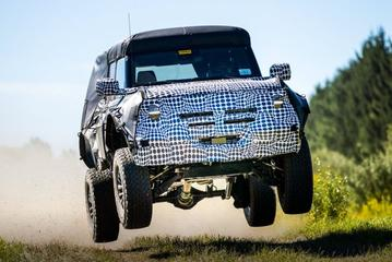 Heftige Ford Bronco aangekondigd