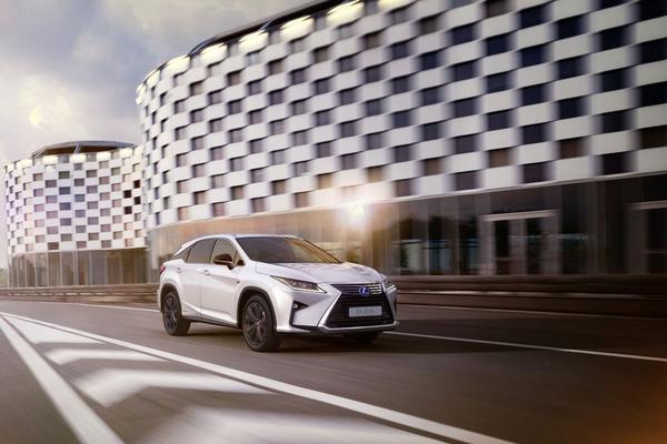 Lexus RX krijgt Sport-uitvoering