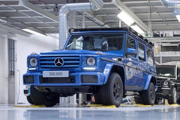 300.000e Mercedes-Benz G-klasse gebouwd