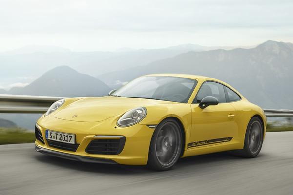 Porsche lanceert 911 Carrera T