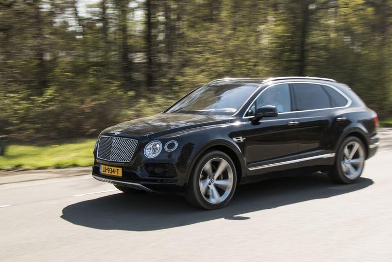 Rij Impressie Bentley Bentayga Eerste Rijtest