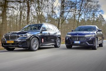 BMW X5 vs. Maserati Levante - Dubbeltest