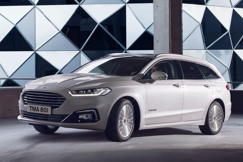Ford Mondeo Hybrid (Wagon) facelift