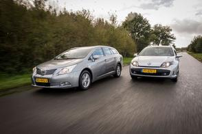 Renault Laguna vs Toyota Avensis - Occasion Dubbeltest
