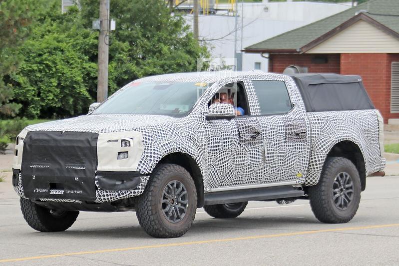 Spyshots Ford Ranger Raptor