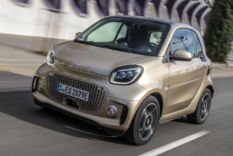 Goedkoopste elektrische auto in private lease: de smart fortwo EQ Essential