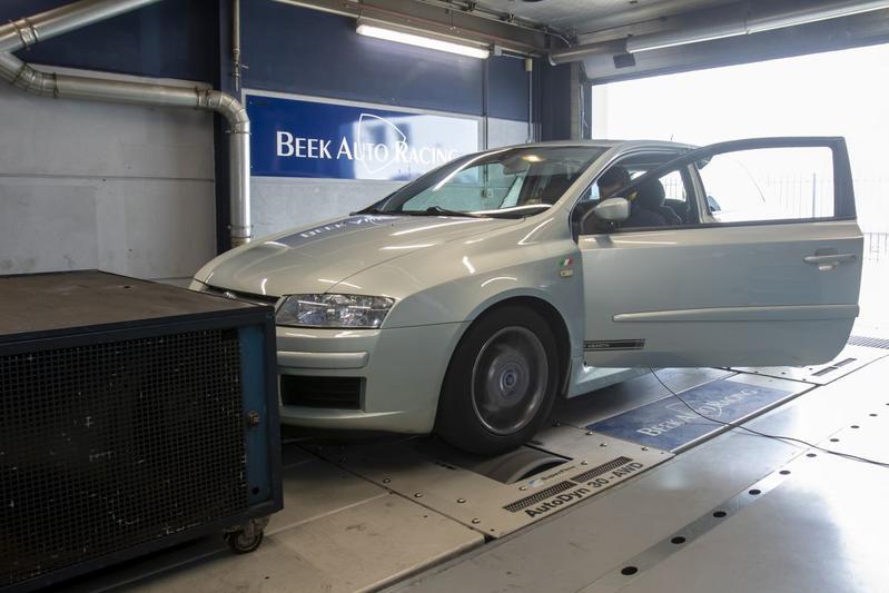 Fiat Stilo 2.4-20V Abarth - Op de Rollenbank