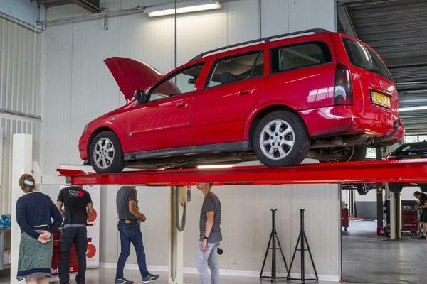 Opel Astra Klokje Rond