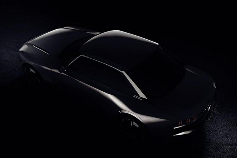Peugeot teaset nieuwe concept