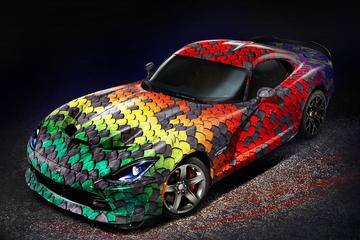 Dodge Viper GTC: inkleuren kan beginnen