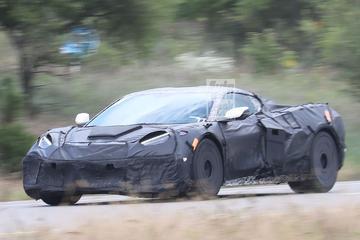 Gesnapt: Chevrolet Corvette Z06