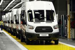 Ford verhoogt productie Transit