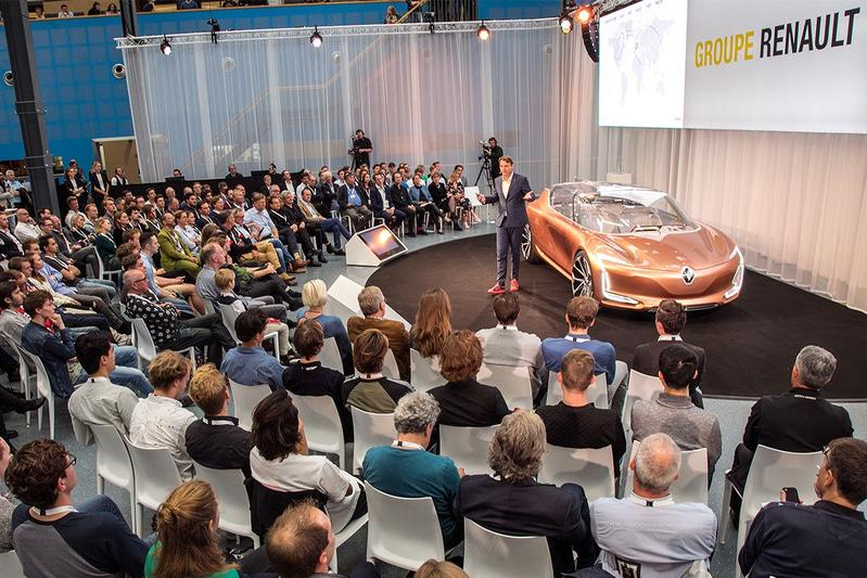 Renault Masterclass op TU Delft