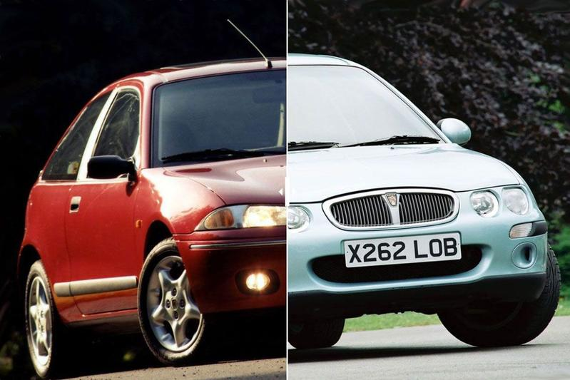 Facelift Friday: Rover 200/25