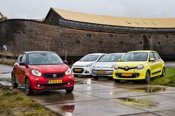 Smart Forfour - Hyundai i10 - VW Up - Renault Twingo