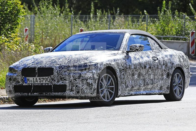 BMW 4-serie Cabrio gespot