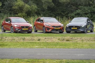 Kia Ceed vs. Seat Leon vs. Mazda 3 - Triotest