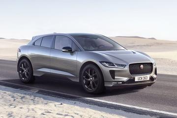 Elektrische Jaguar I-Pace als Black