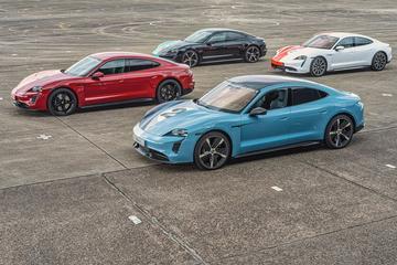 Porsche in tien jaar bijna volledig elektrisch