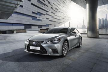 Lexus belicht vernieuwde LS 500h