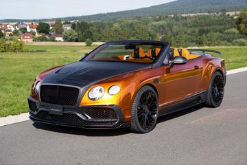 Mansory doopt Continental GTC in carbonsaus