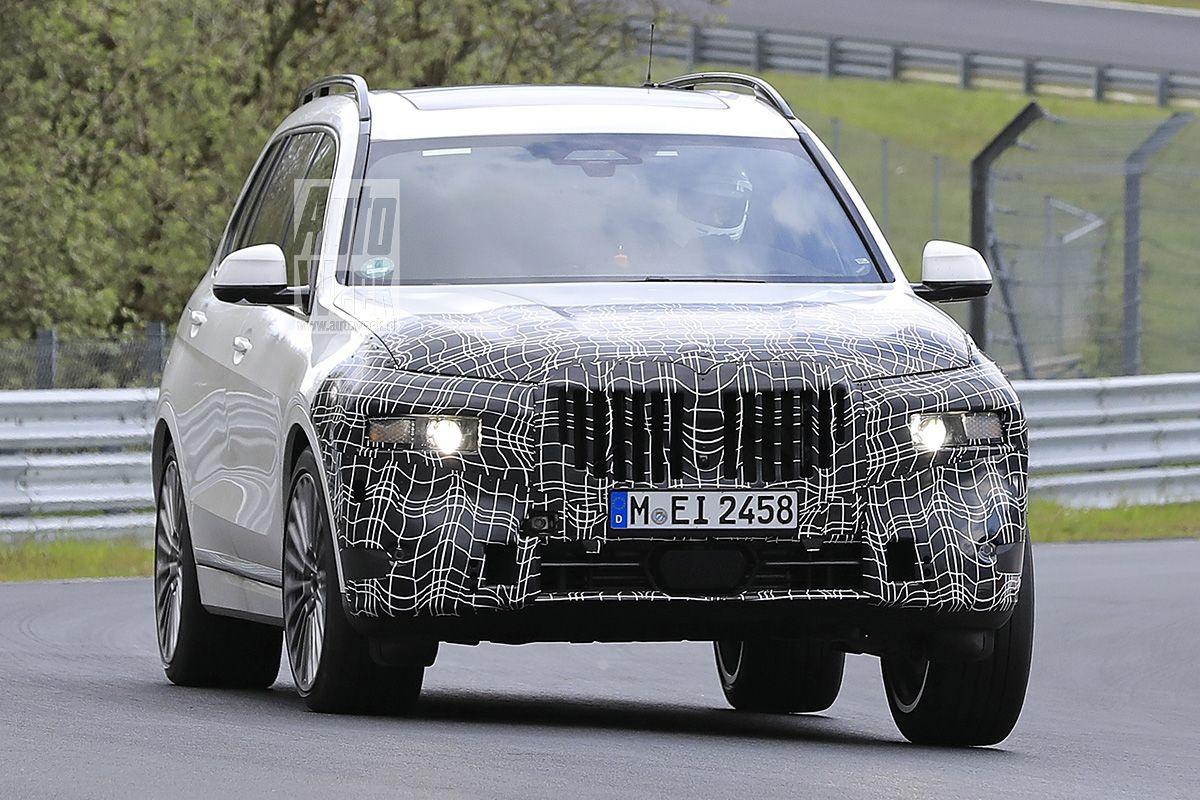Spyshots BMW X7
