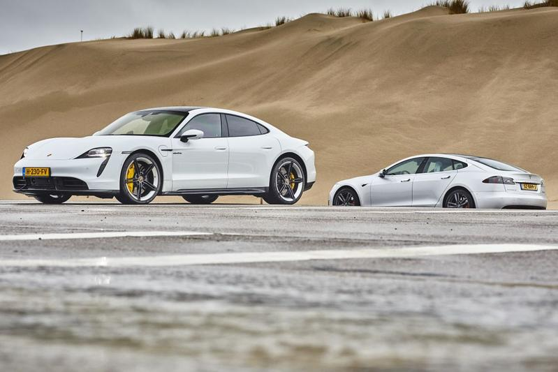 Porsche Taycan Turbo S -Test