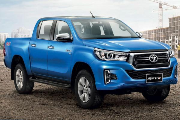 Thaise facelift voor Toyota Hilux