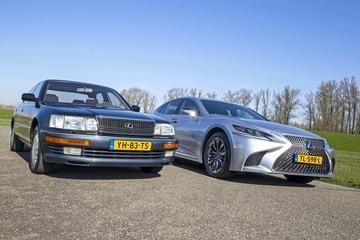 Lexus LS - Oud & Nieuw