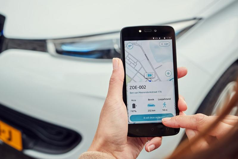 Fetch Carsharing deelauto autodeel app