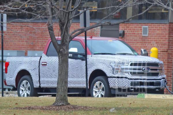 Ford F-150 verbergt elektrische aandrijflijn
