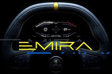 Lotus Emira klaar voor onthulling