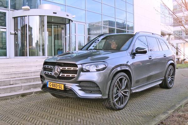 Mercedes-Benz GLS 400d - Achteruitkijkspiegel