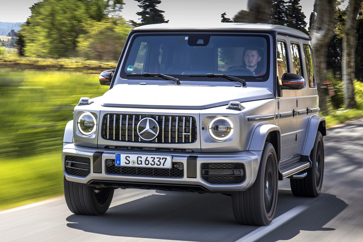mercedes benz g klasse eerste rijtest. Black Bedroom Furniture Sets. Home Design Ideas