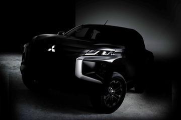 Mitsubishi teast gefacelifte L200