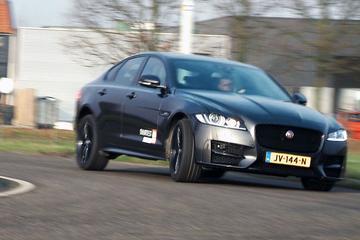 Jaguar XF - nieuw in de duurtestvloot