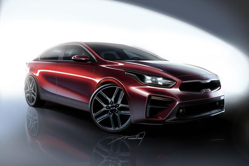 Kia warmt op voor nieuwe Forte Sedan