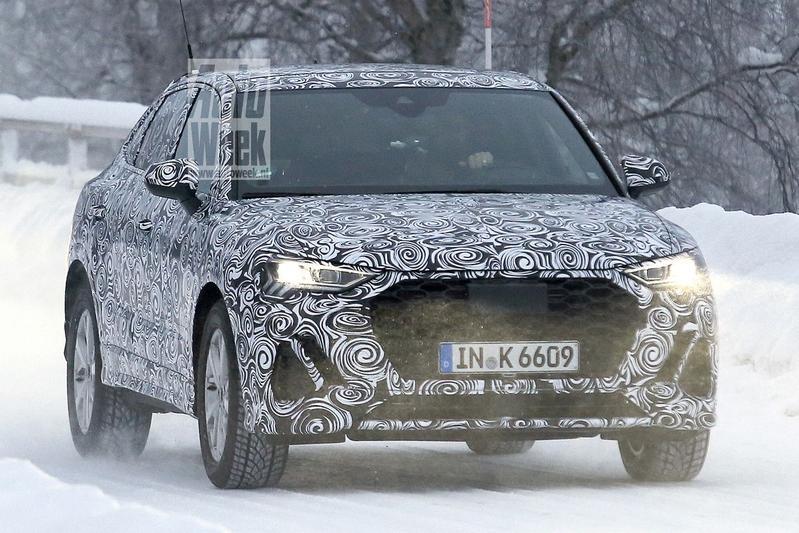 Audi Q4/Q3 Sportback gesnapt