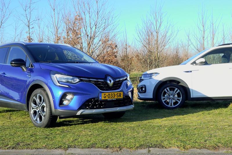 Renault Captur vs. Volkswagen T-Cross - Dubbeltest
