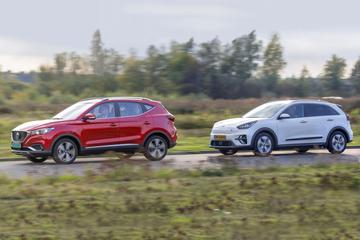MG ZS EV Luxury Line – Kia e-Niro Executive Line - Dubbeltest