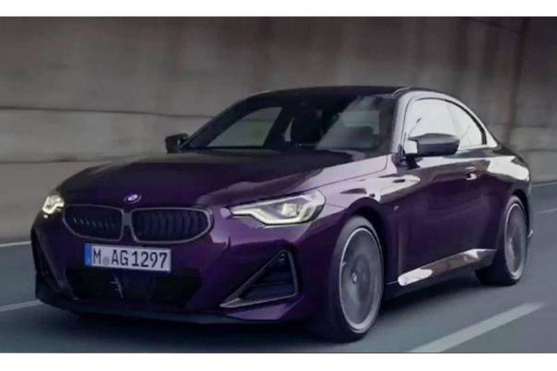 Gelekt BMW 2-serie Coupé