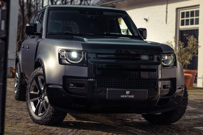 Land Rover Defender unieker dankzij Heritage Customs