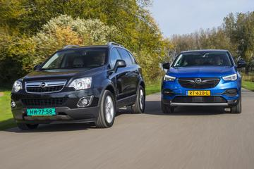 Opel Grandland X - Opel Antara - Oud en Nieuw