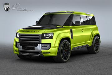 Land Rover Defender volgens Lumma Design