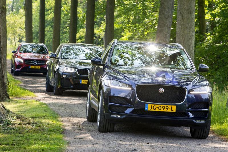 Jaguar F-Pace - BMW X4 - Mercedes-Benz GLC