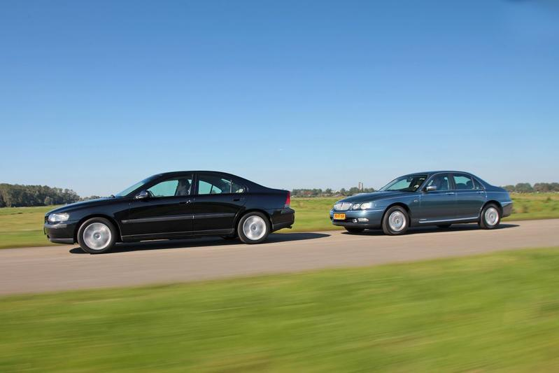 Rover 75 2.5 Sterling - Volvo S60 2.4 Edition