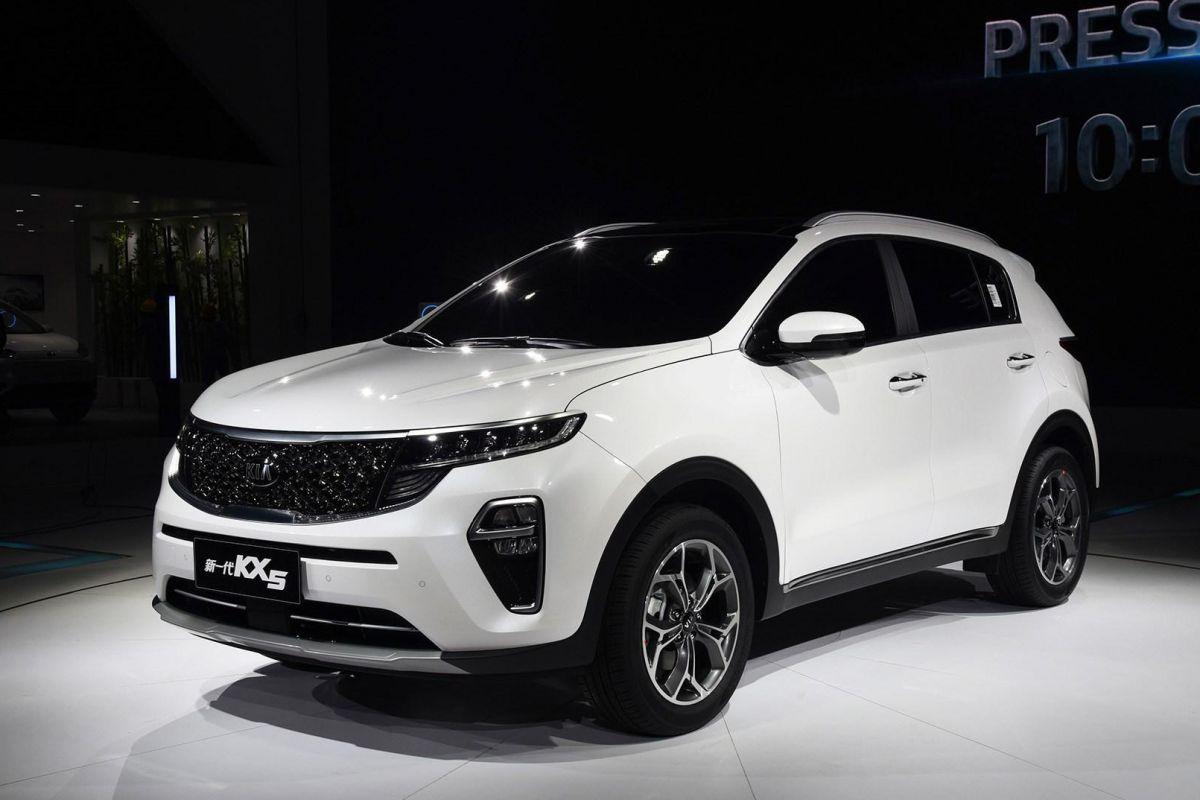 Kia KX5 facelift (Chinese Sportage)